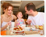 השפעת ההורים על התזונה ועל הפרעות האכילה בילדים