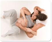 שימוש בדמיון מונחה בהכנה ללידה, לידה והיפוך עובר