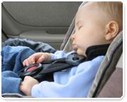לעולם אל תשאירו ילד צעיר ברכב סגור, גם לא לדקה