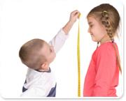 האם הילד נמוך מדי?