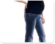 ללבוש ג'ינס בהיריון