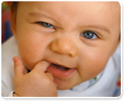 בקיעת שיניים וההתיחסות ההומיאפתית
